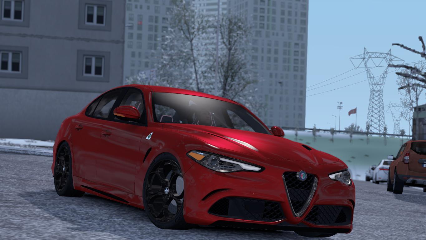ETS 2 Alfa Romeo Giulia Mod