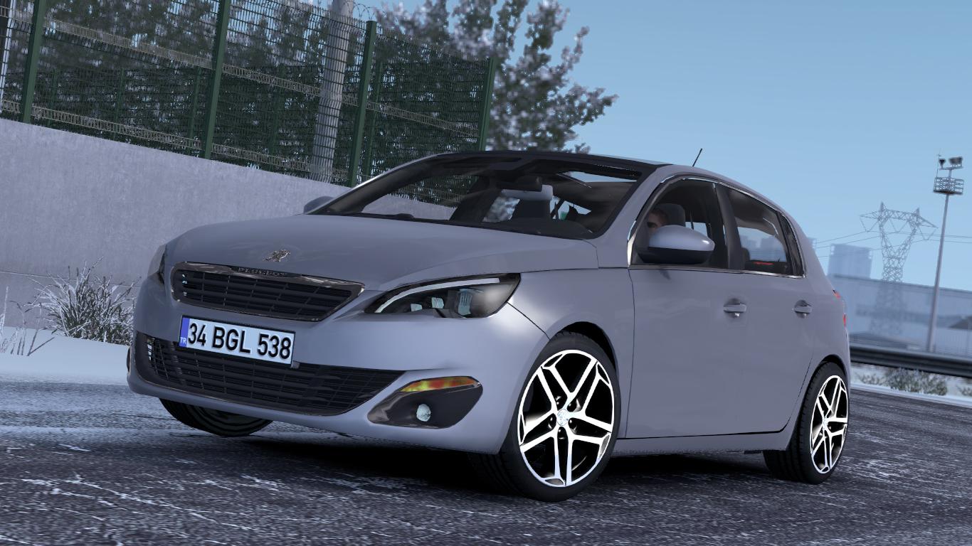 ETS 2 / ATS Peugeot 308 Mod