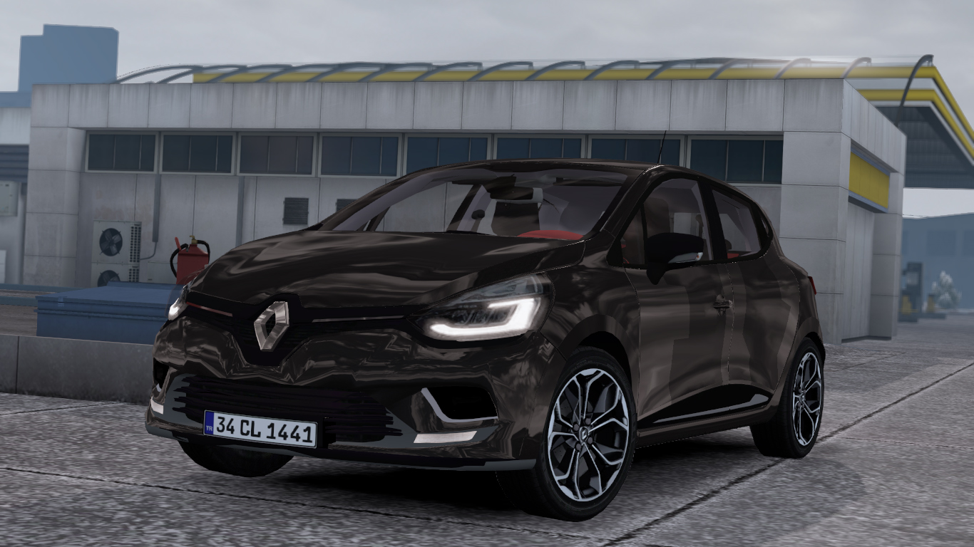 ETS 2 / ATS Renault Clio IV Mod