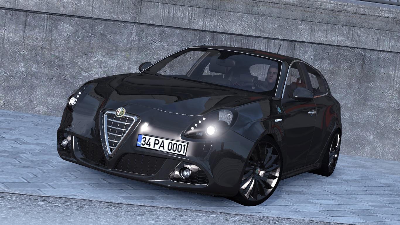 ETS 2 Alfa Romeo Giulietta Mod